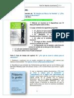 Guía de Trabajo Libros II-2015