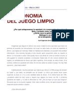 Sigmund, K.; Fehr, E; Nowak, M. (2002) - La Economía Del Juego Limpio