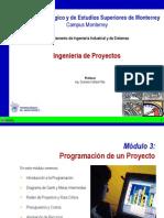 Programación de un Proyecto