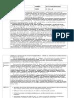 planificaciones lengua  2015