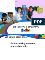 2. Listening & Speaking Year 6_demo