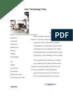 PTC is a Custom Builder of Mechanical Presses