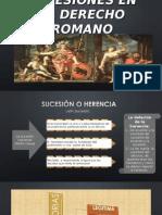 Sucesiones en El Derecho Romano Rene 2