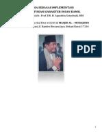 Khotbah Idul Fitri 1432 H - Prof Agustitin