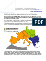Europe transmission disturbance in 2006
