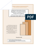 Philippine International Labour Migration in the Last 30 Years (PIDS)