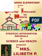 Strategic Intervention Materials Presentation