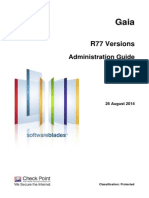 Checkpoint R77 Gaia Administration Guide
