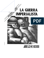 LA GUERRA IMPERIALISTA pce(r)