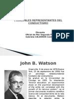Principales Representantes Del Conductismo
