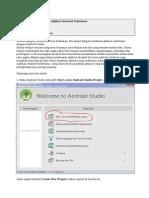 Android studio Membuat aplikasi android sederhana
