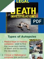 Medico-legal Investigation of Death