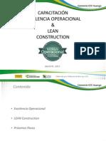 Capacitación LEAN CONSTRUCTION