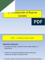 Introduccion Flujo Canales