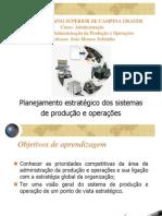 Aula 3 - Planejamento Estratégico Dos Sistemas de Produção e Operações
