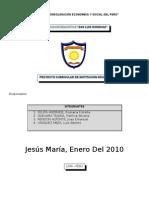 """""""aÑo de La ConsolidaciÓn EconÓmica y Social"""