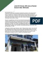 Iklan Dijual Rumah Di Ciracas, 600 Juta an Rumah Brand in New- Minimalis