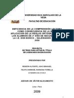 Universidad Inca Garcilaso de La Vega Facultad