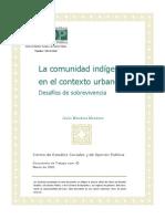 Comunidad Indigena Contexto Urbano Docto85