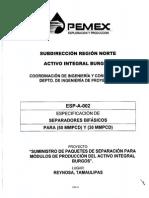 Anexo Tecnico Esp- A-002