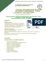 Restaurantes y Hoteles - Implementacion de Las Bpm y Programa de Higiene y Saneamiento - Norma Sanitaria r.m. 363-2005-Minsa