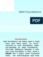 Well Foundation Design