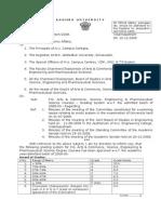 PG Grading System of AU
