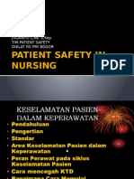 Patient Safety in Nursing