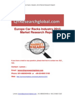Europe Car Racks Industry 2015 Market Research Report