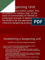 Bargaining Unit