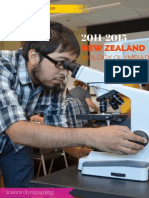 New Zealand Biology Olympiad (11-15)