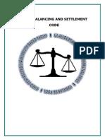 Balancing Settlement Code