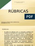 Presentacion Sobre Rubricas
