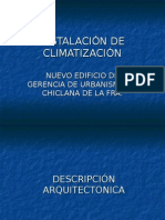 Presentacion Instalacion de Climatización
