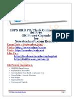 www.newstechcafe.com+ibps+rrb+PO+Clerk+2015+GK+Capsule