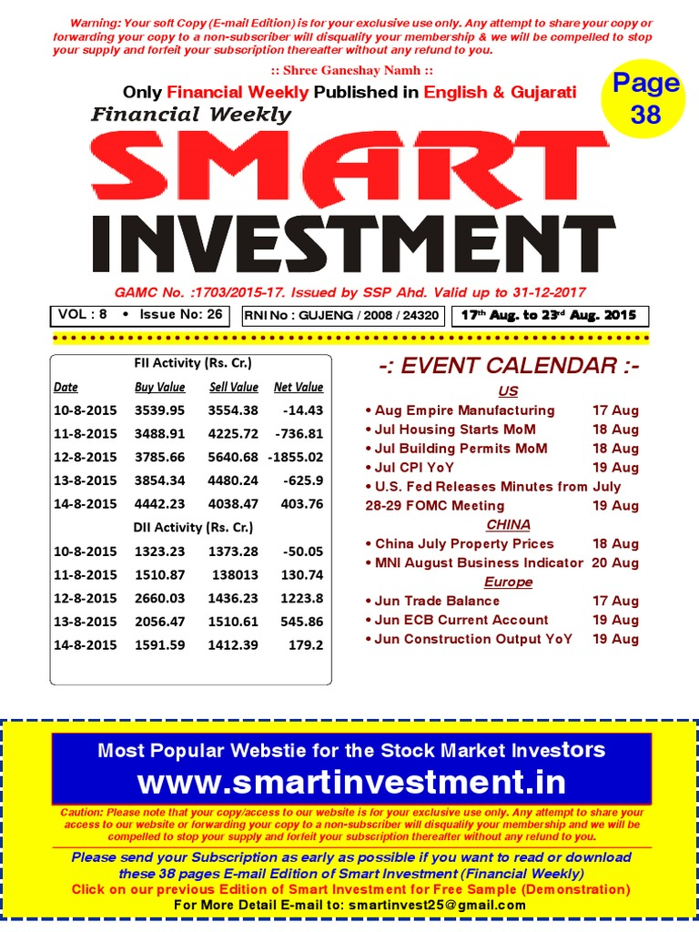 Financial weekly smart investments putnam investments colorado
