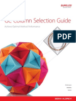 Gc Column Selection Guide