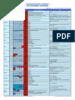 Academic Calendar 2015
