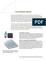 Wp the Value of High Performance Computing for Simulation