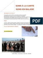 Points d'ouïe presentation