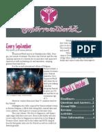 TomorrowWorld Newsletter