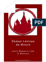 Brochure Damas Latinas de Moscú (Español - English)