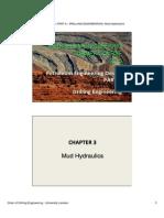 Mud Hydraulics , drilling