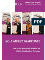 Role Model Guidelines