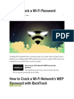 How to Crack a Wi-Fi Password