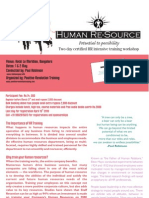 Human Resource Training in Bangalore