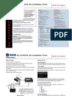 7000 118-363,B1,R5 SUPREME AIS Installation Short Instruction
