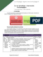 3 Dificultades de Aprendizaje e Intervencion Psicopedagógica