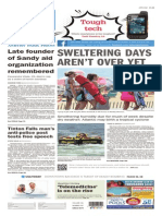 Asbury Park Press front page, Tuesday, August 18, 2015