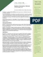 Newsletter Term 2 2015